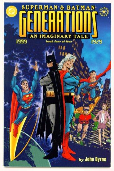 SUPERMAN and BATMAN GENERATIONS #4 DC Comics 1999 Elseworlds