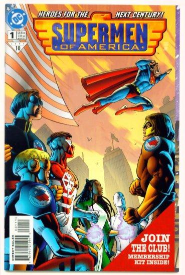 SUPERMEN OF AMERICA #1 DC Comics 1999