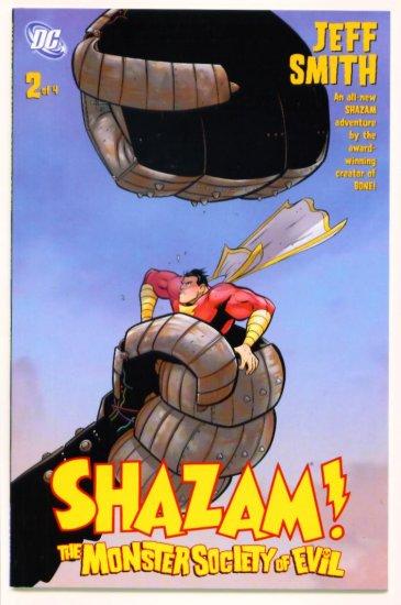 SHAZAM  The MONSTER SOCIETY of EVIL #2 DC Comics 2007  Jeff Smith
