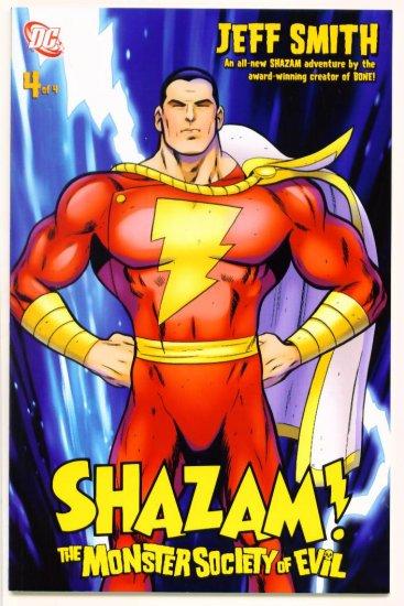 SHAZAM  The MONSTER SOCIETY of EVIL #4 DC Comics 2007  Jeff Smith
