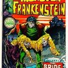 * THE MONSTER OF FRANKENSTEIN #2 Marvel Comics 1973  Mike Ploog art