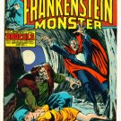 THE MONSTER OF FRANKENSTEIN #9 Marvel Comics 1974  Dracula
