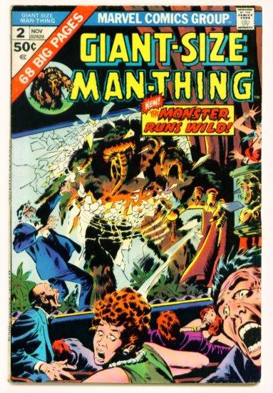 MAN-THING GIANT-SIZE #2 Marvel Comics 1974