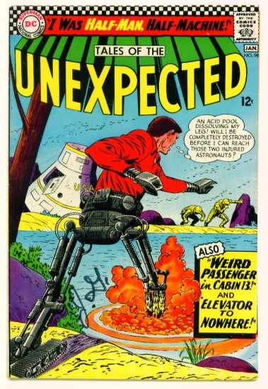 TALES of the UNEXPECTED #98 DC Comics 1966