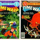 TIME WARP #1 and #2 DC Comics Dollar Giants 1979