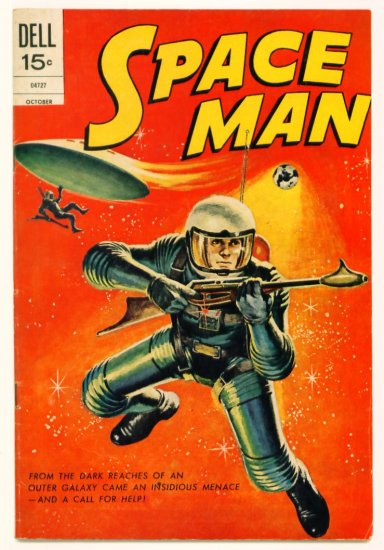 SPACE MAN #10 Dell Comics 1972