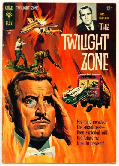 TWILIGHT ZONE #15 Gold Key Comics 1966 Rod Serling