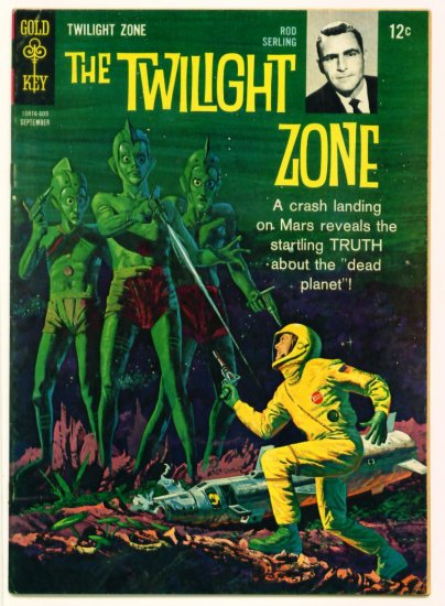 TWILIGHT ZONE #17 Gold Key Comics 1966 Rod Serling
