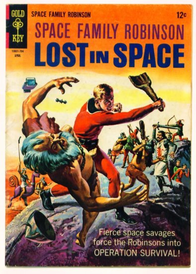 SPACE FAMILY ROBINSON #21 Gold Key Comics 1967 Lost in Space