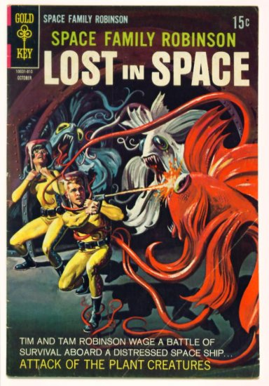 SPACE FAMILY ROBINSON #30 Gold Key Comics 1968 Lost In Space