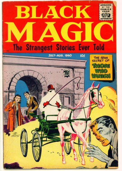 BLACK MAGIC V7 #3 Crestwood / Prize Comics 1960 Horror