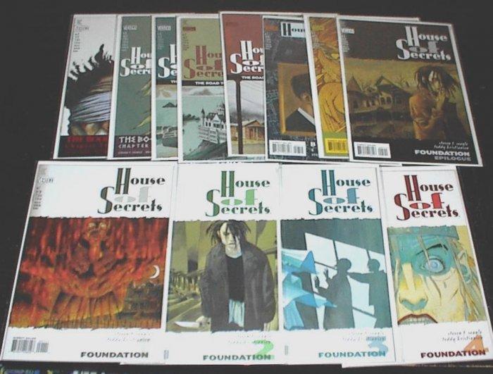 HOUSE of SECRETS #1 - #12 lot of 12 DC VERTIGO Comics