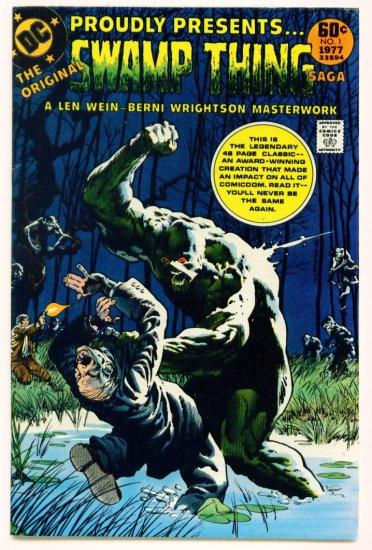 The ORIGINAL SWAMP THING SAGA #1 DC Comics 1977 Berni Wrightson