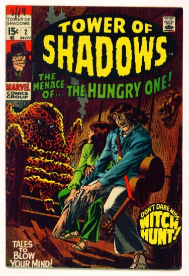TOWER of SHADOWS #2 Marvel Comics 1969 Horror