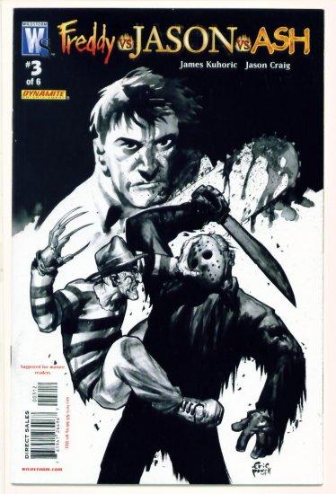 FREDDY VS JASON VS ASH #3 Wildstorm Comics 2007
