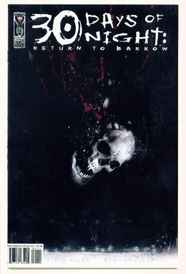 30 DAYS OF NIGHT RETURN TO BARROW #1 IDW Comics 2004