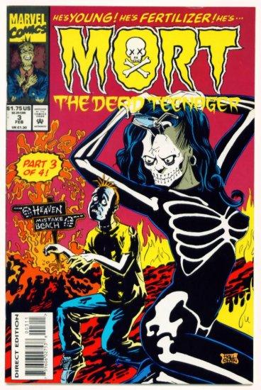 MORT the DEAD TEENAGER #3 Marvel Comics 1994