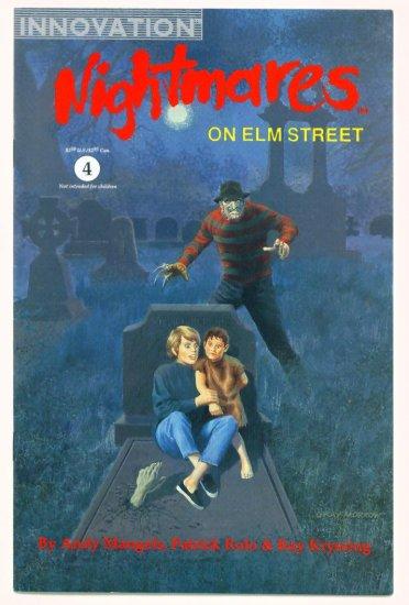 A NIGHTMARE ON ELM STREET NIGHTMARES #4 Innovation Comics 1992