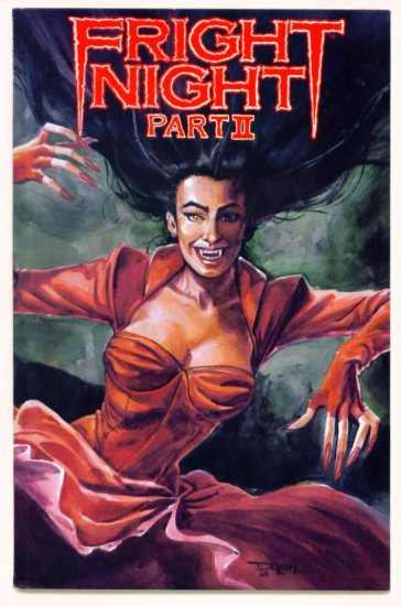 FRIGHT NIGHT PART II #1 Now Comics 1988
