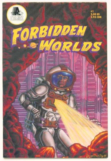 FORBIDDEN WORLDS #1 A PLUS COMICS 1991