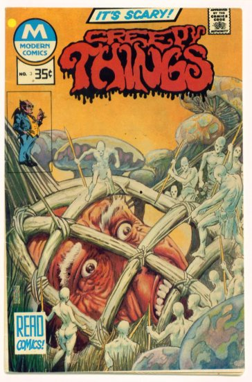 CREEPY THINGS #3 Modern Comics 1977