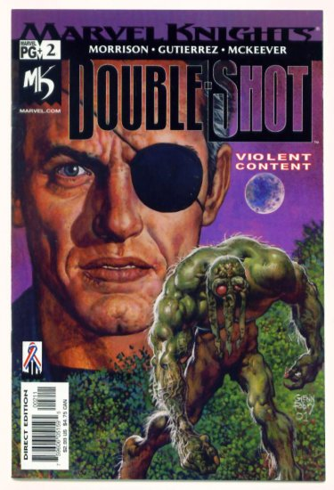 MAN-THING MARVEL KNIGHTS DOUBLE SHOT #2 Marvel Comics 2002