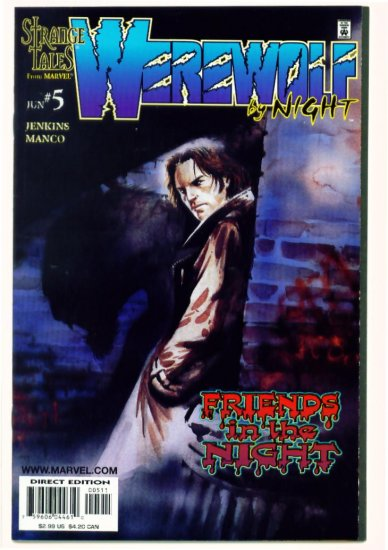WEREWOLF BY NIGHT #5 Marvel Comics 1998