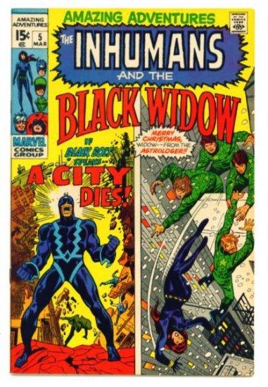 AMAZING ADVENTURES #5 Marvel Comics 1971 Inhumans VERY FINE