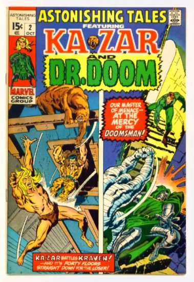 ASTONISHING TALES #2 Marvel Comics 1970 Doctor Doom