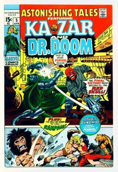 ASTONISHING TALES #5 Marvel Comics 1971 Doctor Doom