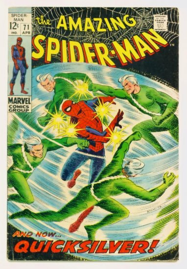 AMAZING SPIDER-MAN #71 Marvel Comics 1969