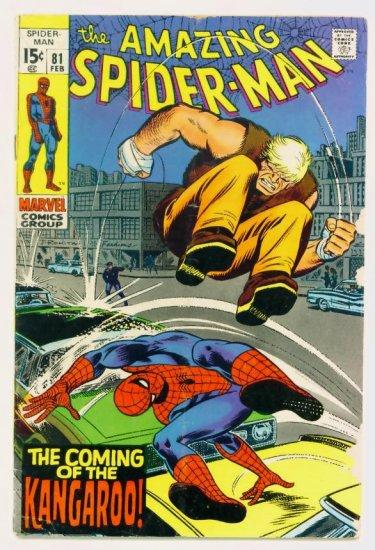 AMAZING SPIDER-MAN #81 Marvel Comics 1970