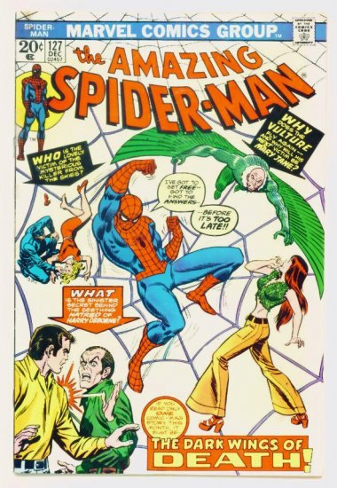 AMAZING SPIDER-MAN #127 Marvel Comics 1973