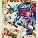 The AVENGERS #50 Marvel Comics 1968 FINE