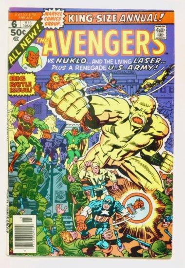 AVENGERS ANNUAL #6 Marvel Comics 1976