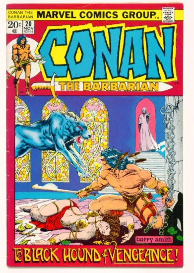 CONAN the BARBARIAN #20 Marvel Comics 1972  BARRY SMITH