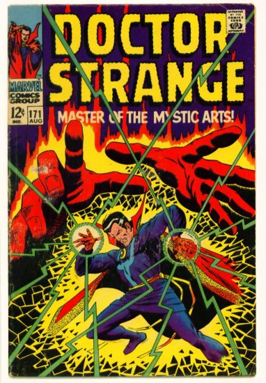 DOCTOR STRANGE #171  Marvel Comics 1968
