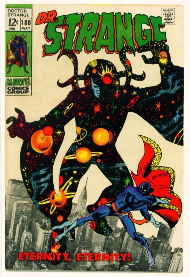 DOCTOR STRANGE #180 Marvel Comics 1969 FINE