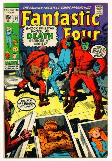 FANTASTIC FOUR #101 Marvel Comics 1970 FINE