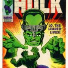INCREDIBLE HULK #115 Marvel Comics 1969 VS The Leader