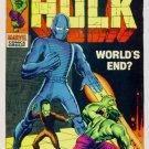 INCREDIBLE HULK #117 Marvel Comics 1969 The Leader