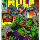 INCREDIBLE HULK #119 Marvel Comics 1969 VS Maximus