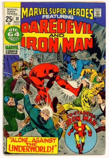 IRON MAN Super-Heroes #31 Marvel Comics 1971 GIANT