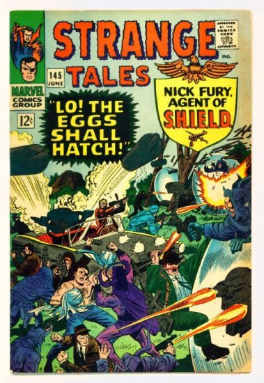 STRANGE TALES #145 Marvel Comics 1966