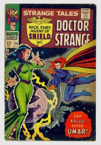 STRANGE TALES #150 Marvel Comics 1966 1st BUSCEMA