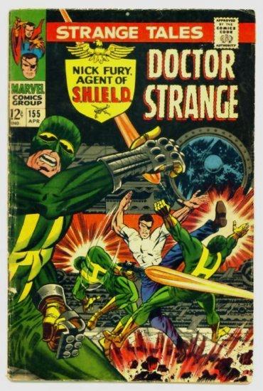 STRANGE TALES #155 Marvel Comics 1967 Steranko