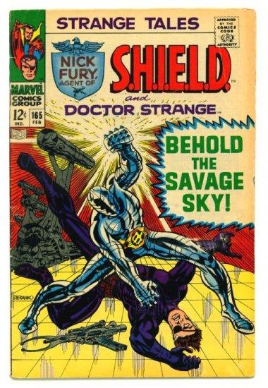STRANGE TALES #165 Marvel Comics 1968 Steranko