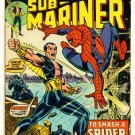 SUB-MARINER #69 Marvel Comics 1974 Spider-man