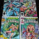 PRINCE NAMOR Sub-Mariner #1 - #4 Full Run Marvel Comics