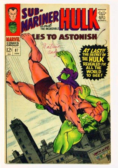 TALES to ASTONISH #87 Marvel Comics 1967 The Hulk
